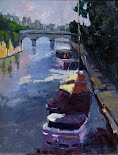 Afternoon on the Seine, by Ghislaine Gargaro