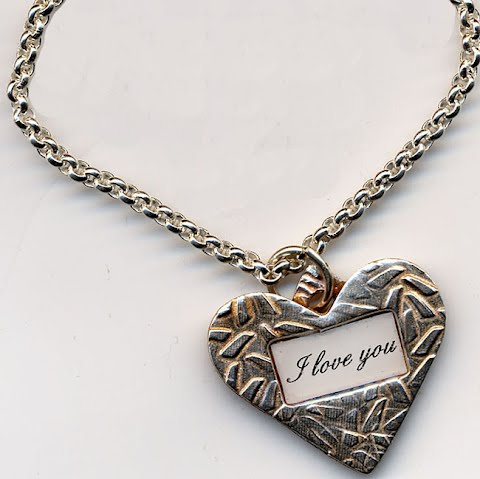 Heart Necklace by Vicki Szamborski