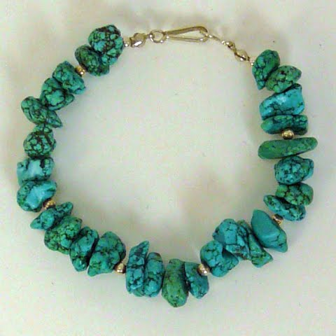 Turquoise Bracelet by Nancy Comaford