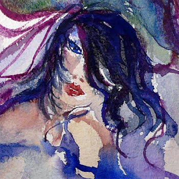 Adrenaline, watercolor by Annie Clavel
