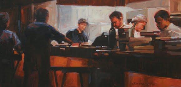 Behind the Counter, by Veronica Schmitt