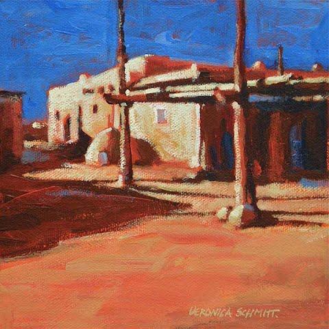 Taos Pueblo, by Veronica Schmitt