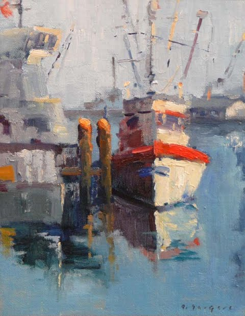 Los Angeles Port, by Ghislaine Gargaro